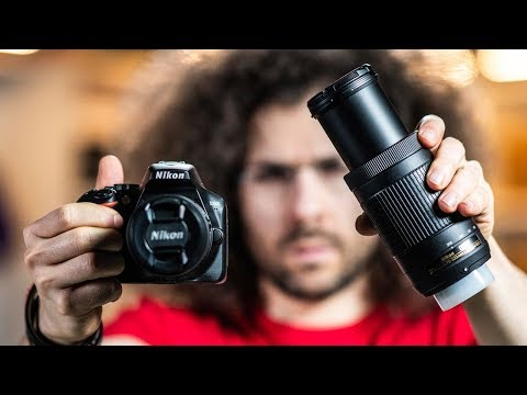 Nikon D3500 REVIEW / Hands On PHOTO SHOOT | BEST CAMERA Kit for Under $500?! thumbnail