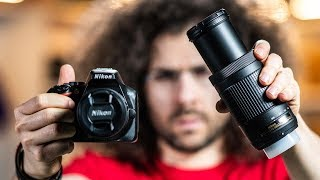 Nikon D3500 REVIEW / Hands On PHOTO SHOOT | BEST CAMERA Kit for Under $500?!