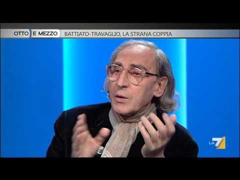 Otto e mezzo - Battiato-Travaglio, la strana coppia (Puntata 12/11/2015)