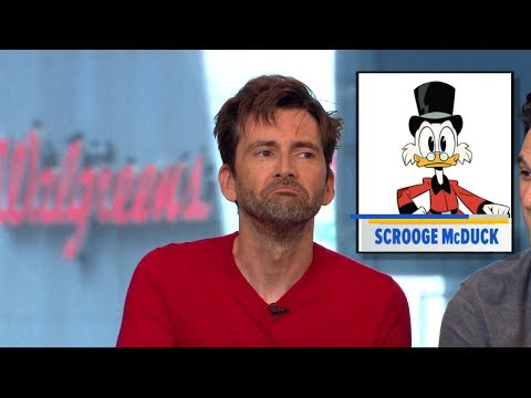 David Tennant says he 'feels the pressure' remaking the classic  'Ducktales'
