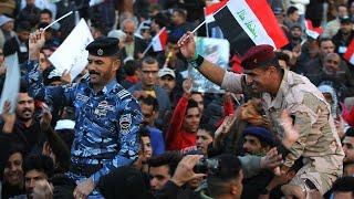 العراق: عرض عسكري في بغداد للاحتفال بالنصر على تنظيم