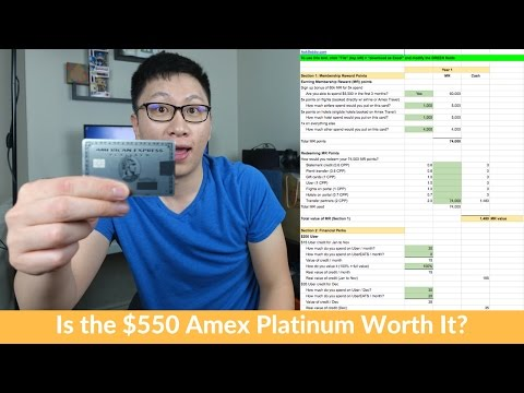 Is The $550 Amex Platinum Worth It? (Expected Value + Breakeven)