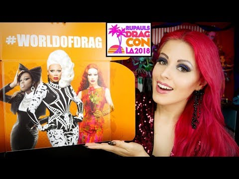 1st World of Drag Subscription Unboxing w/ Rupaul, Bob & Sasha