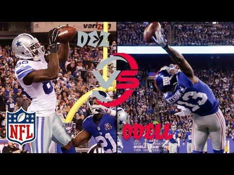 Odell Beckham Jr. vs. Dez Bryant | Cowboys...