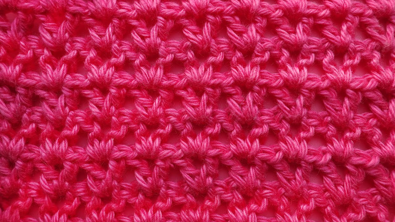 узор вязания крючком 48 Crochet Pattern Youtube