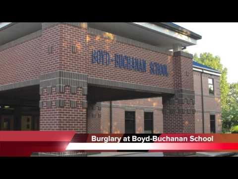 Boyd-Buchanan School burglary in Chattanooga TN