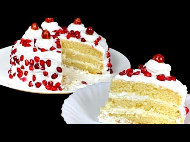 ஓவன் இல்லாமல் birthday cake ரெடி😋 | Birthday Cake Recipe In Tamil | Vanilla Birthday Cake In Tamil