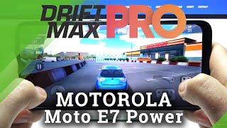 Motorola Moto E7 Power - Drift Max Pro Gameplay & Performance Checkup