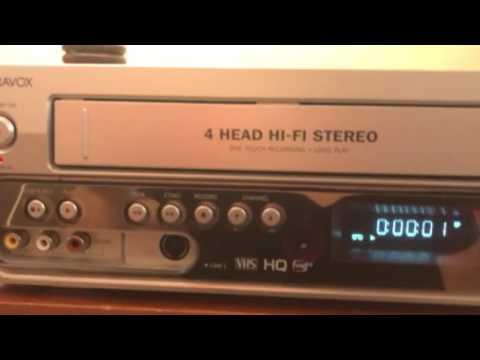 Magnavox DVD recorder & vcr combo