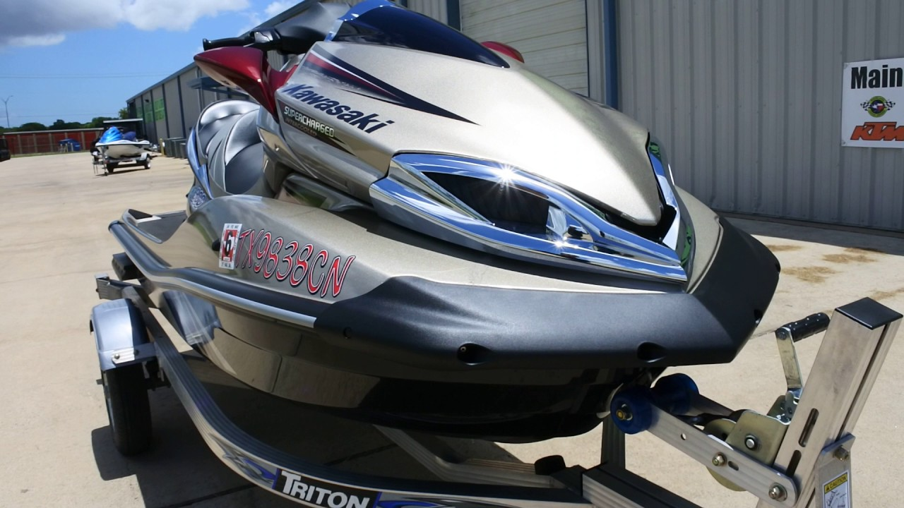 $9,999: For Sale Pre Owned 2013 Kawasaki Ultra 300 LX Jet Ski with