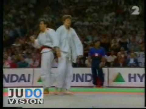 JUDO 1997 World Championships: Emanuela Pierantozzi (ITA) - Ursula Martin (ESP)