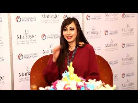 Interview with SARA NAILS SALON for Cairo International Wedding Show - LE MARIAGE 2015