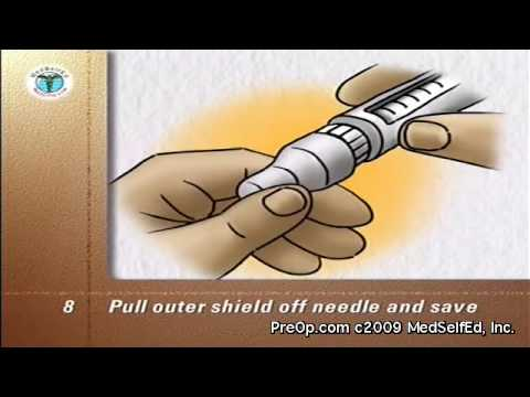 Diabetes PreOp® Patient Education Insulin Pens