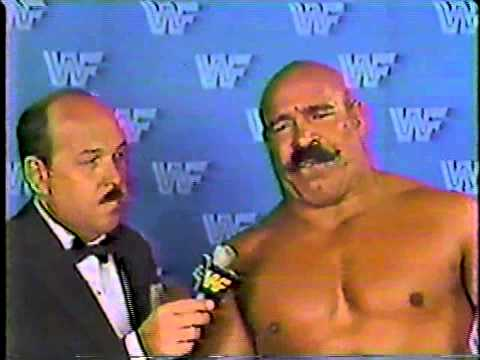 "Best Promos - Iron Sheik ""I Call You a Punk!"""