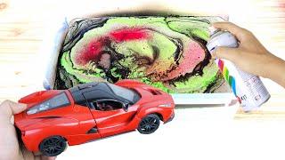 Customize your Ferrari with Hydro Dipping - Tùy chỉnh Xe Ferrari của bạn với Sơn Nước