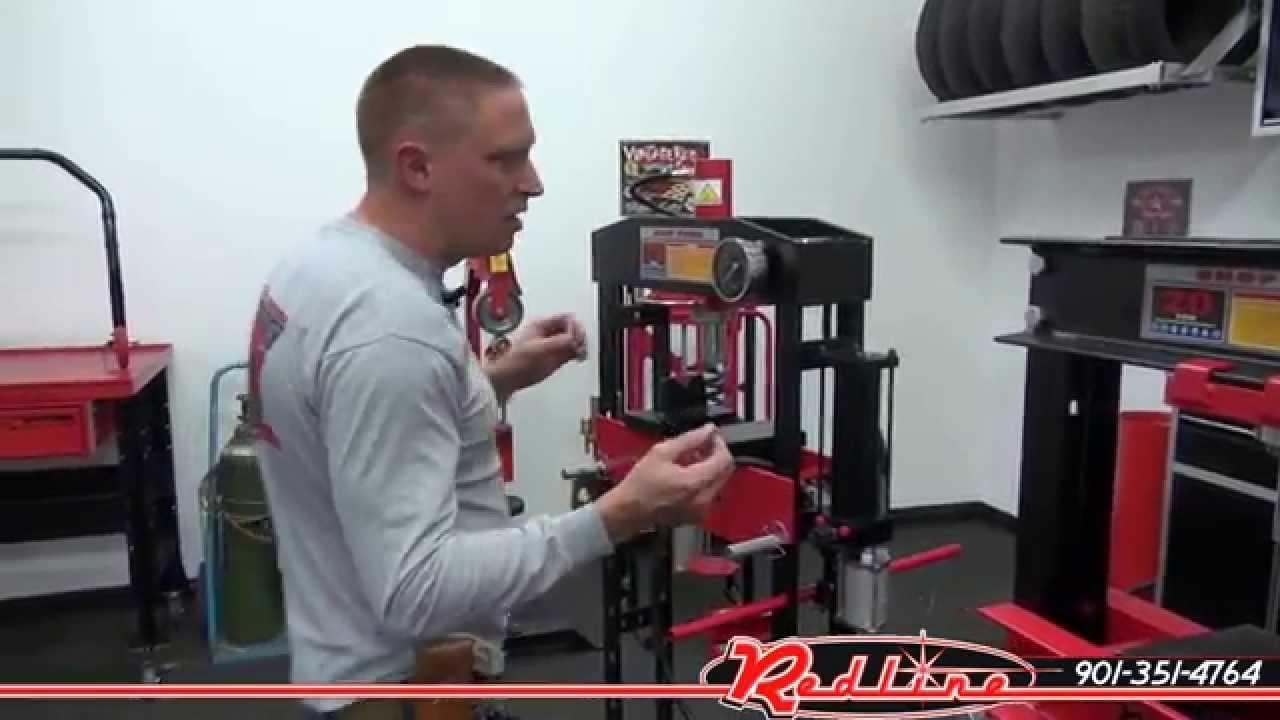 Redline 20 Ton Hydraulic Shop Press Comparison