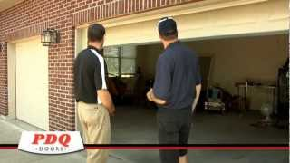 New Garage Doors, New Garage Door Openers, and Garage Door Service PDQ Doors Cincinnati Ohio