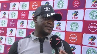 Absa Premiership | Bloem. Celtic v Orlando Pirates  | Post-match interview with Lehlohonolo Seema