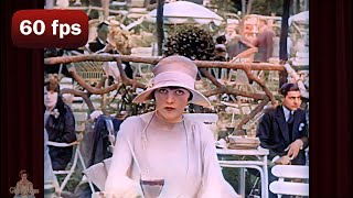 A Day in 1920's Paris | 1927 AI Enhanced Film [ 60 fps, 4k]
