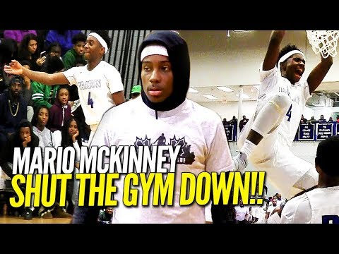 HOODIE RIO Hits a MEAN Putback Dunk & SHUTS THE GYM DOWN in Front of Sold Out Crowd!!