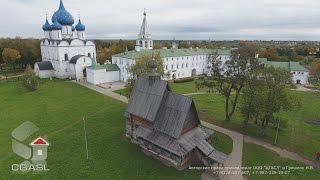 видео Суздаль|Александровский мужской монастырь