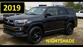 2019 Toyota 4Runner Nightshade Edition in Black review and demonstration
