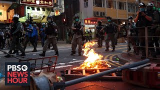 Hong Kong residents mull whether to leave amid Beijing's crackdown