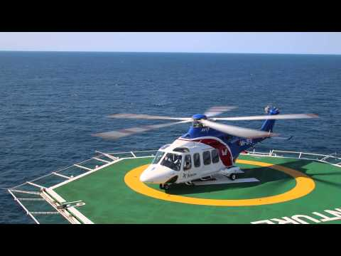 Agusta Westland AW139 Start up and Take off