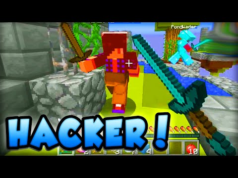 Minecraft SKYWARS - 'HE'S HACKING!' - Minecraft w/ Ali-A! #13
