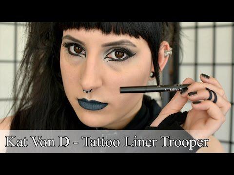 Kat Von D Tattoo Liner in Trooper / First Impressions