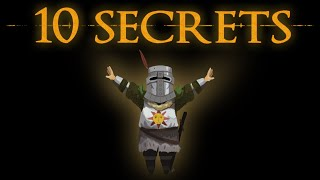 10 Mysterious Secrets iฑ Dark Souls, Bloodborne and Demon's Souls