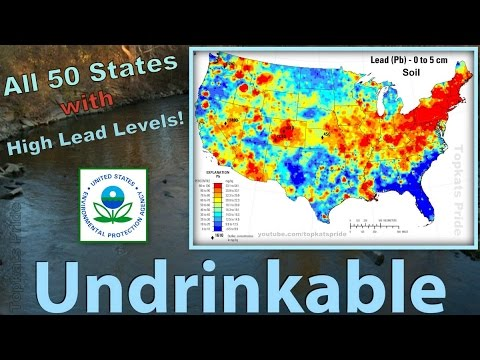 US Water Systems Are In Violation Of Lead Rules Pure - Us map of lead in water