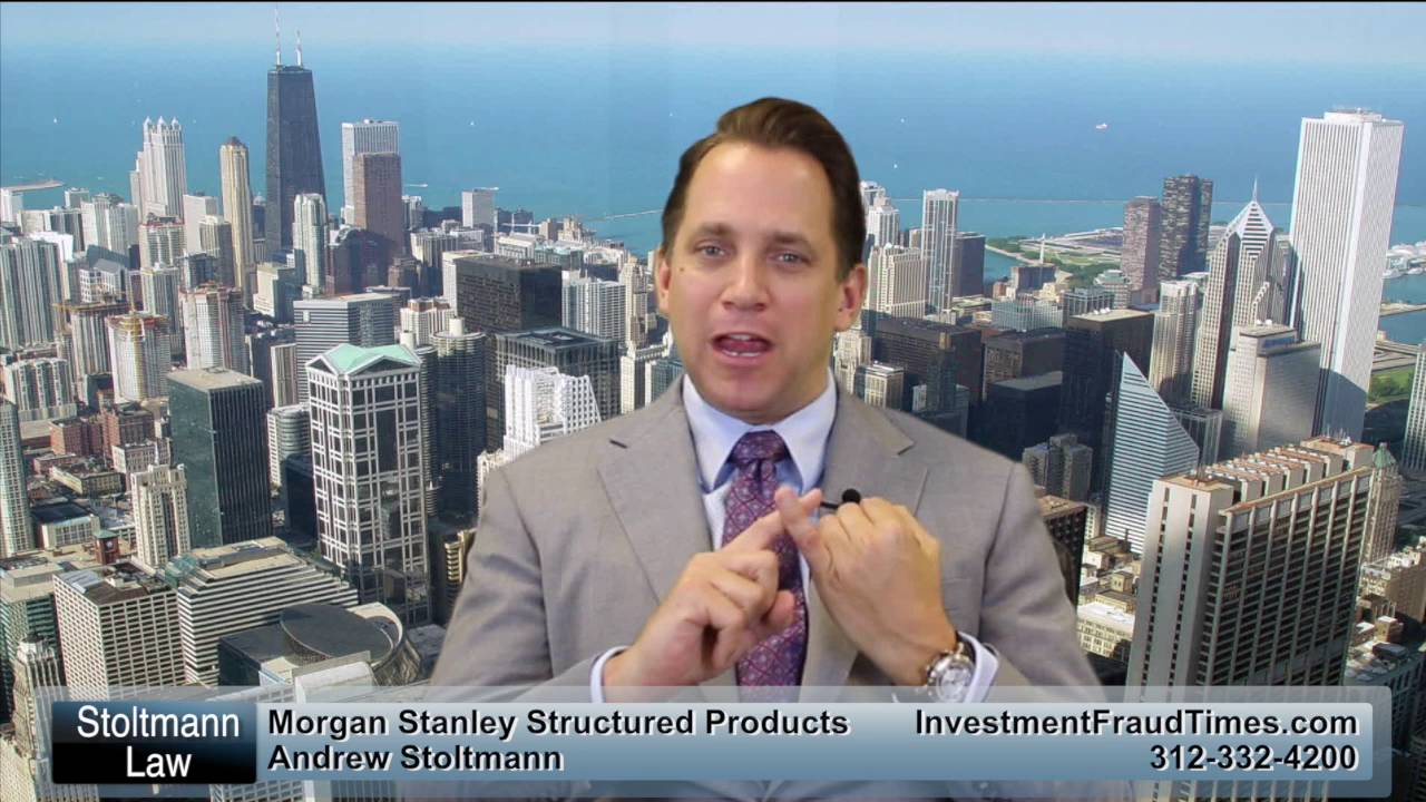 Morgan Stanley Structured Products Investor Information - Call 312-332-4200
