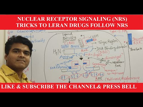 Nuclear Receptor Signaling-NRS |Structure & Function|Mnemonics To Learn -Drugs Follow |Transcription
