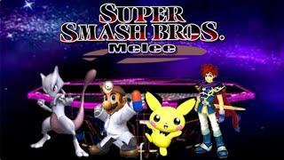 Batalla a Muerte entre los Personajes Olvidados / Super Smash Bros. Melee °Gatex´s Edition°