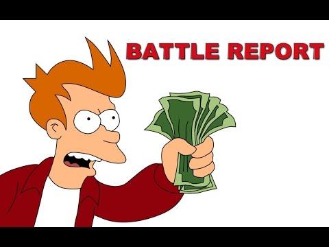 Warhammer 40k Battle Report : Батлрепорт о том, как играть в вархаммер. Орки против Рыцарей + АНОНС.