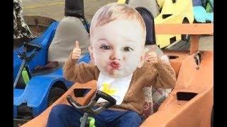 Hillbilly Baby at the Go Carts!
