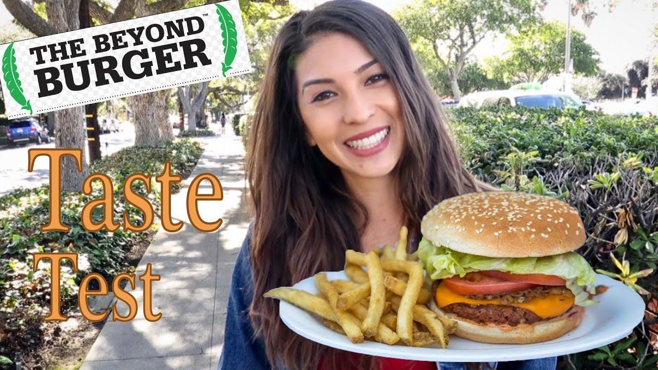 beyond meat the beyond burger taste test youtube. Black Bedroom Furniture Sets. Home Design Ideas