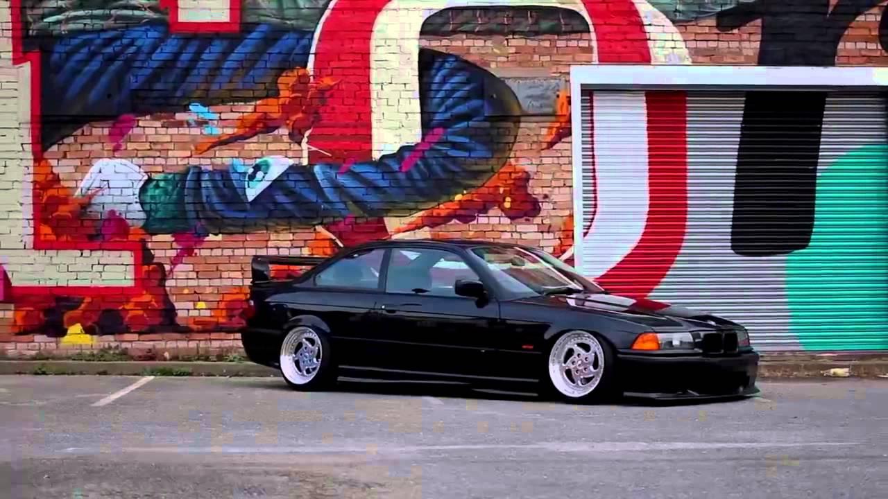 Black Bmw E36 Coupe Youtube