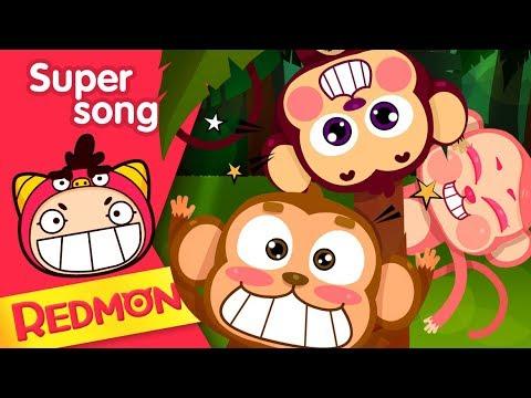 Super songs #04 Ten little monkeys [REDMON]