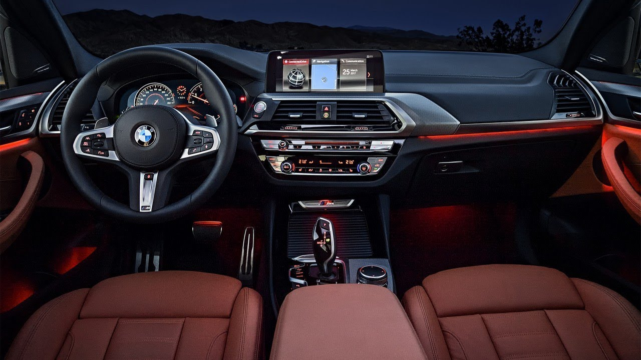 2018 Bmw X3 Dashboard Review Along With Two Tone Finishers On The