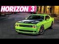 Forza Horizon 3 : 270+ MPH Challenger Hellcat Build