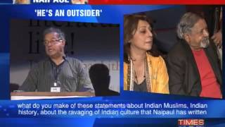 Girish Karnad takes on nobel laureate VS Naipaul