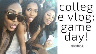 COLLEGE VLOG #1: GAMEDAY, FRAT PARTY