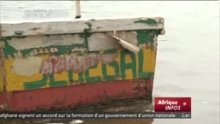 L'extraction du sel crée de l'emploi pour de nombreux Sénégalais