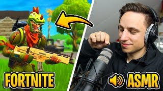 Play [ASMR] in FORTNITE! (German) 🎮 then the