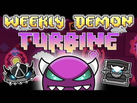 DID I BEAT BLOODLUST?! - (Weekly Demon #21) Geometry Dash 2.11 - Turbine [3 Coins] - By Rafer