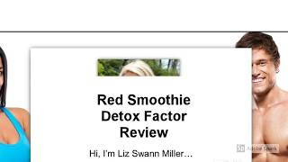Red Smoothie Detox Factor Review | Is Red Smoothie Detox Factor Good?