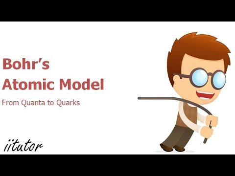 bohrs atomic model from quanta to quarks iitutor youtube ccuart Gallery