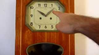 How To Regulate A Pendulum Wall Clock (speed)